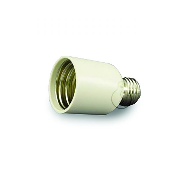 Reduction from e40 to E27 (connects bulb e40 to E27 socket)